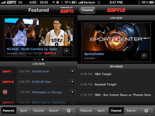 WatchESPN App in Amazon Kindle Fire Tablet
