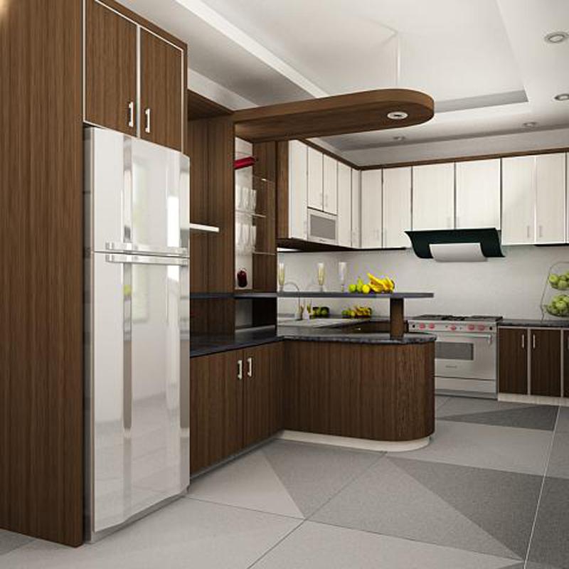 Jasa Pembuatan Kitchen Set Mewah Kelapa Gading