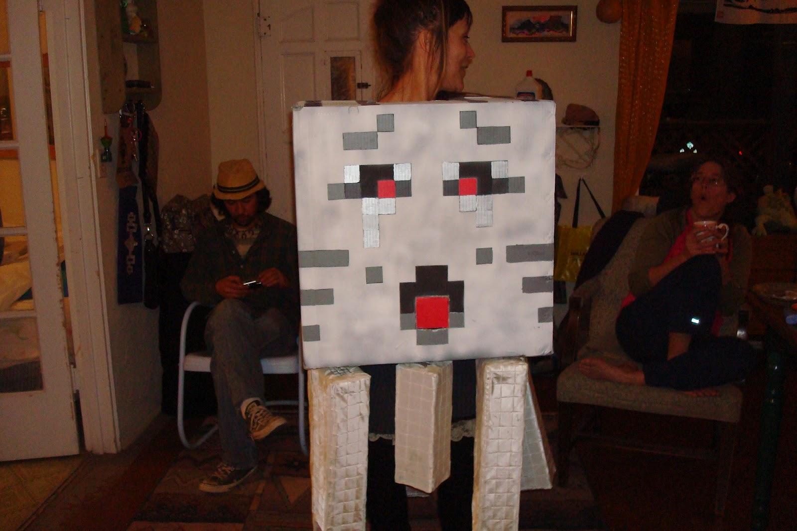 creaturecraft: Minecraft Ghast Halloween costume