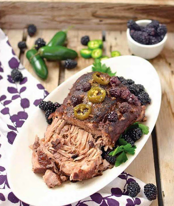 Blackberry Jalapeño Pork Roast