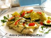 Treska so zemiakovými plátkami - recept