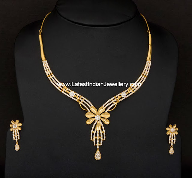 Ziron Necklace Set