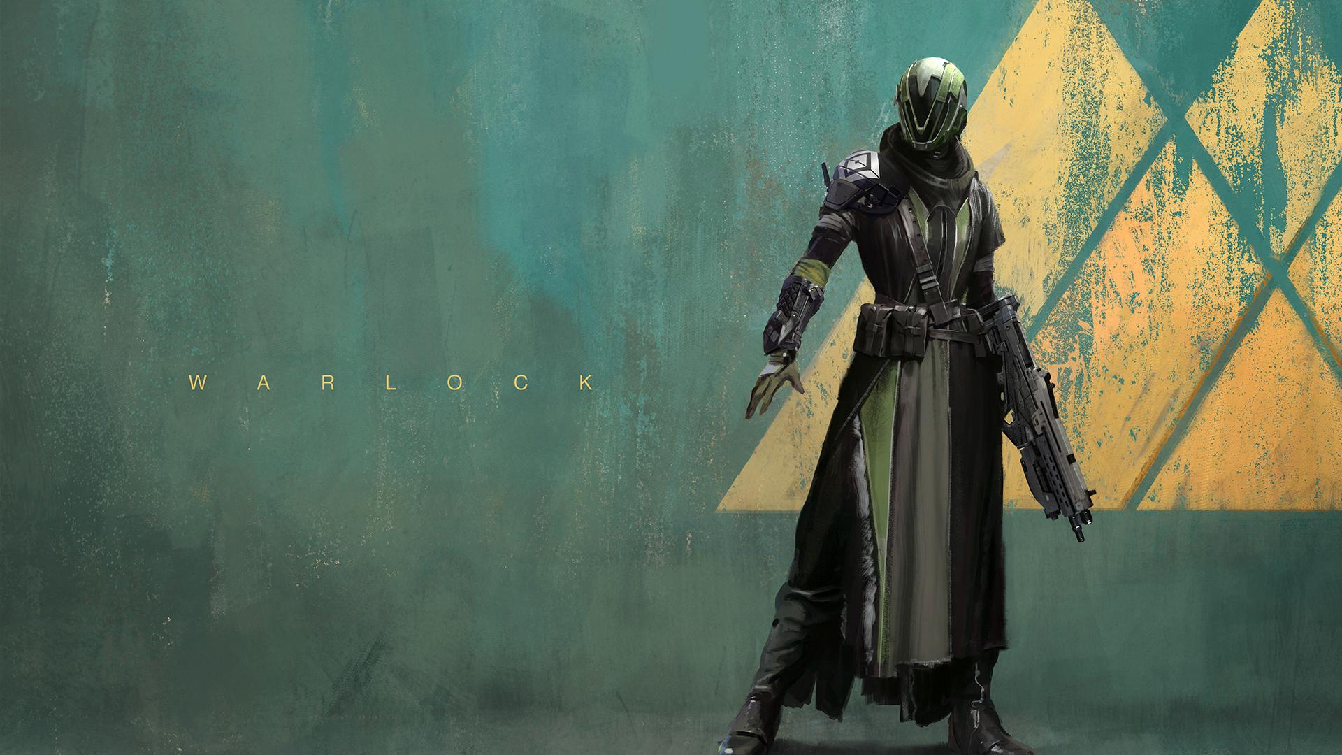 Warlock Destiny Game Guardian Class Character Hd 1920x1080 ...
