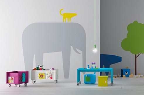 Habitaciones infantiles con mobiliario de dise o for Diseno habitaciones infantiles