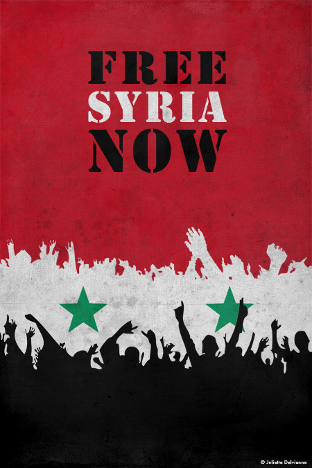 Free-syria-Juliette-Delvienne-One-per-week