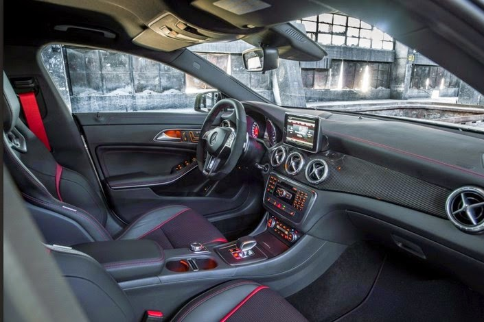 2016 Mercedes-Benz CLA45 AMG Interior