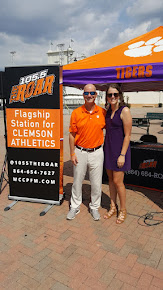 The Tiger Pregame Show Hosts-Scott Rhymer and Kelly Gramlich
