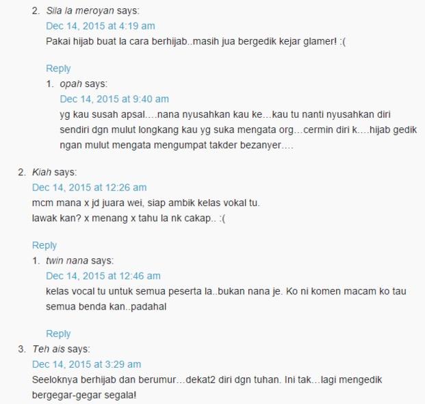 Kemenangan Siti Nordiana Dipertikai