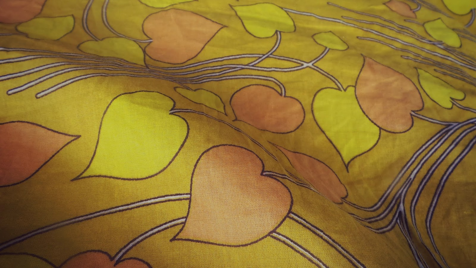 autumn leaf fabric