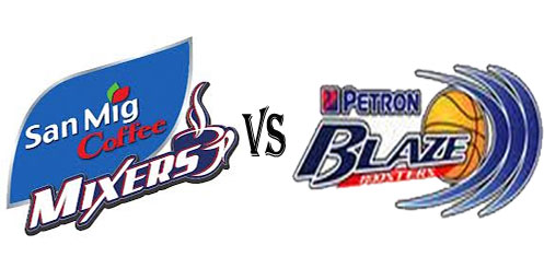 December 13, San Mig Coffee Mixers vs Petron Blaze Boosters Live Streaming