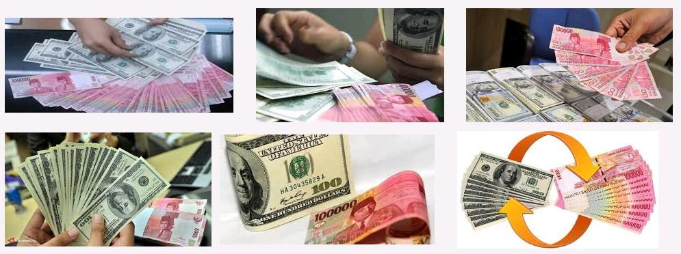 Harga Rupiah VS dollar Hari ini Terburuk sepanjang sejarah