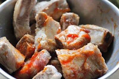 Vietnamese Food - Sườn Non Hầm Đậu Hà Lan