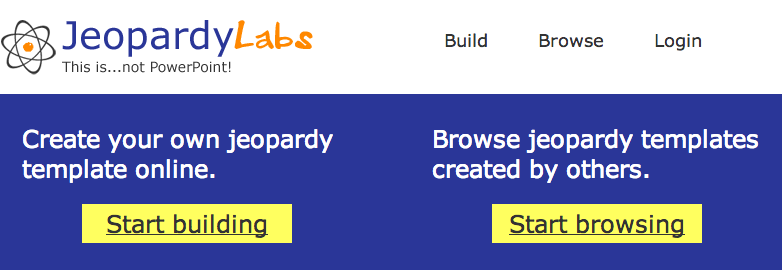 world history teachers blog: jeopardy labs for jeopardy review games, Powerpoint templates