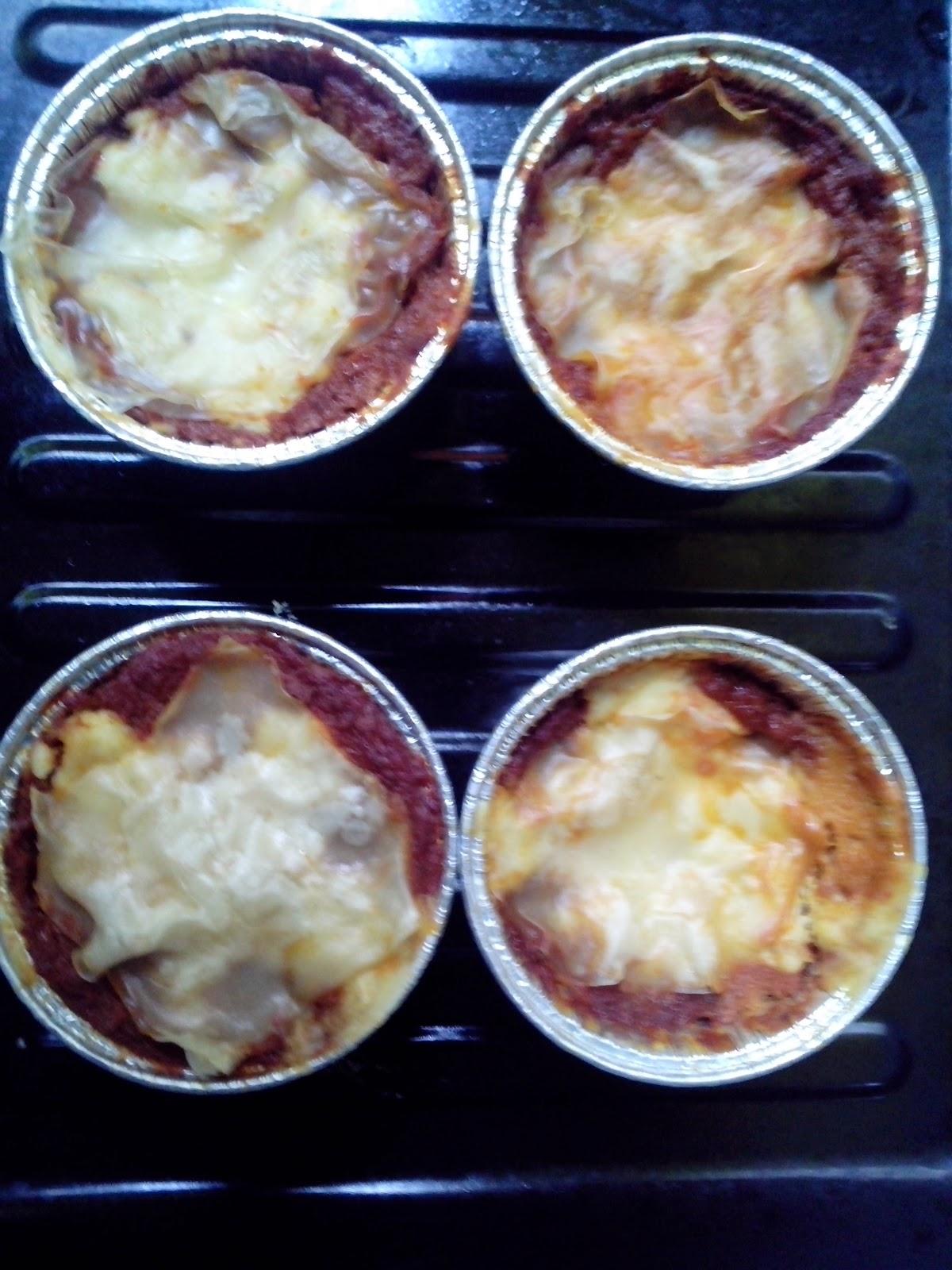 Lasagna Praktis dan Enak Menggunakan Kulit Pangsit