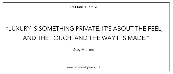 via fashioned by love | best fashion & style quotes | Suzy Menkes