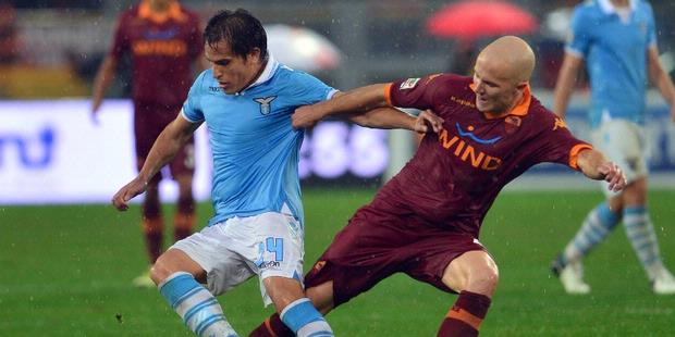Hasil Pertandingan Lazio vs AS Roma 3-1, 11 November 2012