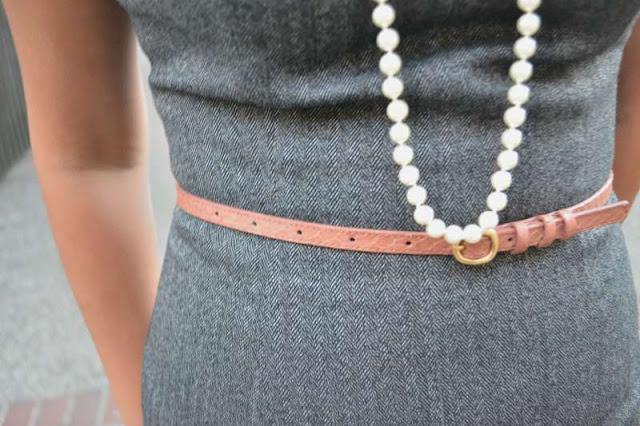 sacramento office fashion blogger angeline evans the new professional mossimo dress target jcrew belt