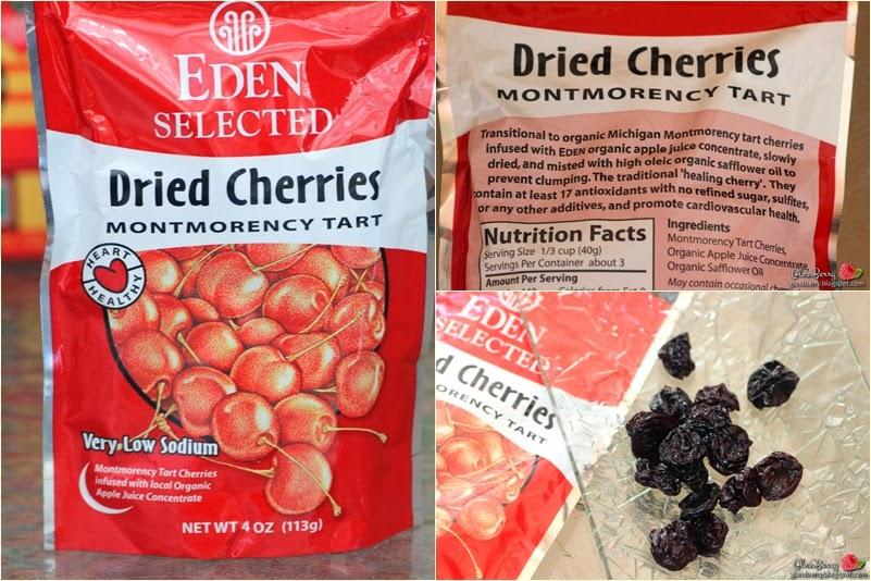 iherb אייהרב הזמנה רכישה מוצרים  dried cherry cherries דובדבנים מומלצים המלצות גלוסברי