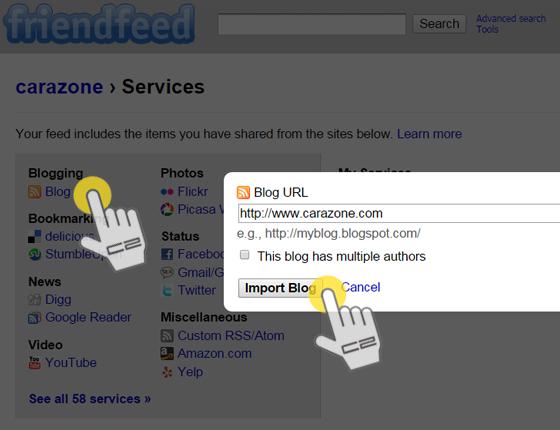 Cara Mendapat Backlink dari Friendfeed