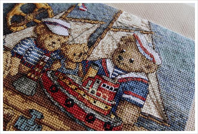 Ahoy! Bears вышивка