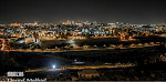 JERUSALEM BY NIGHT, THE HOLY CITY OF GOD.