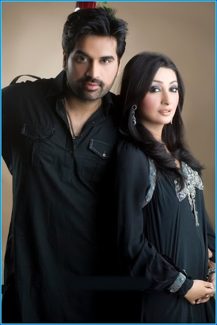 Humayun Saeed with girl
