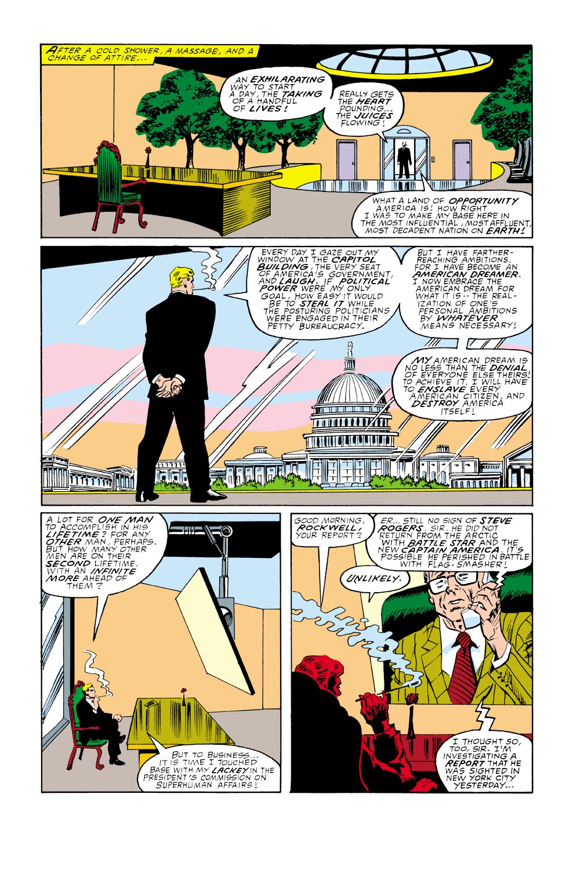 Captain America (1968) Issue #350 #282 - English 7