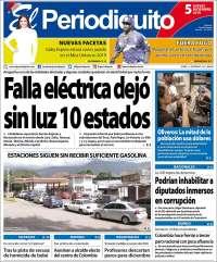05/12/2019 PRIMERA PAGINA DE EL PERIODIQUITO DE MARACAY