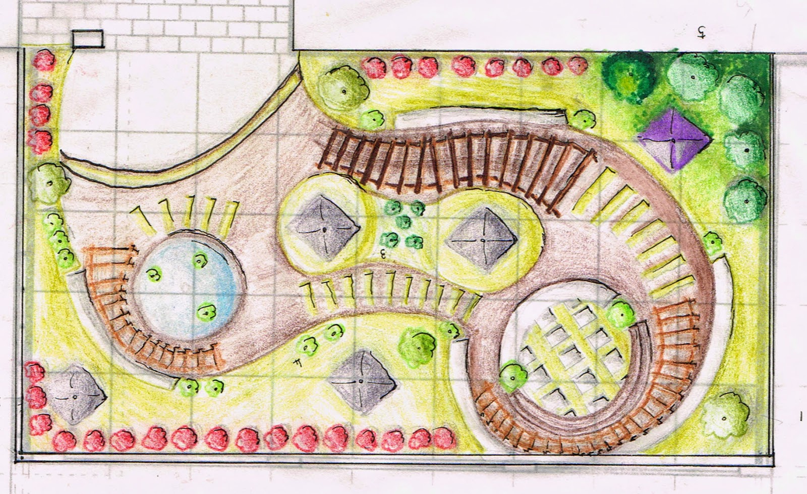 LANDSCAPE PROJECT 2 DESIGN PROJECTPLAN SKETCH