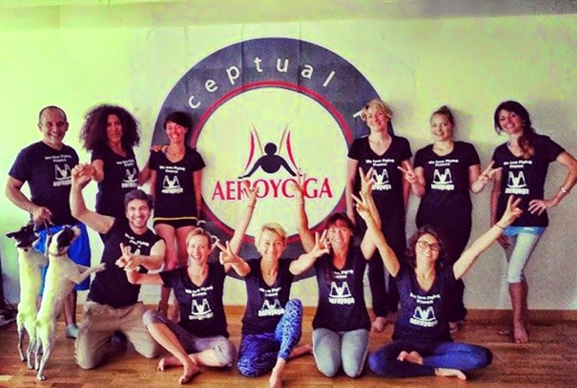 trapecio yoga aereo cursos