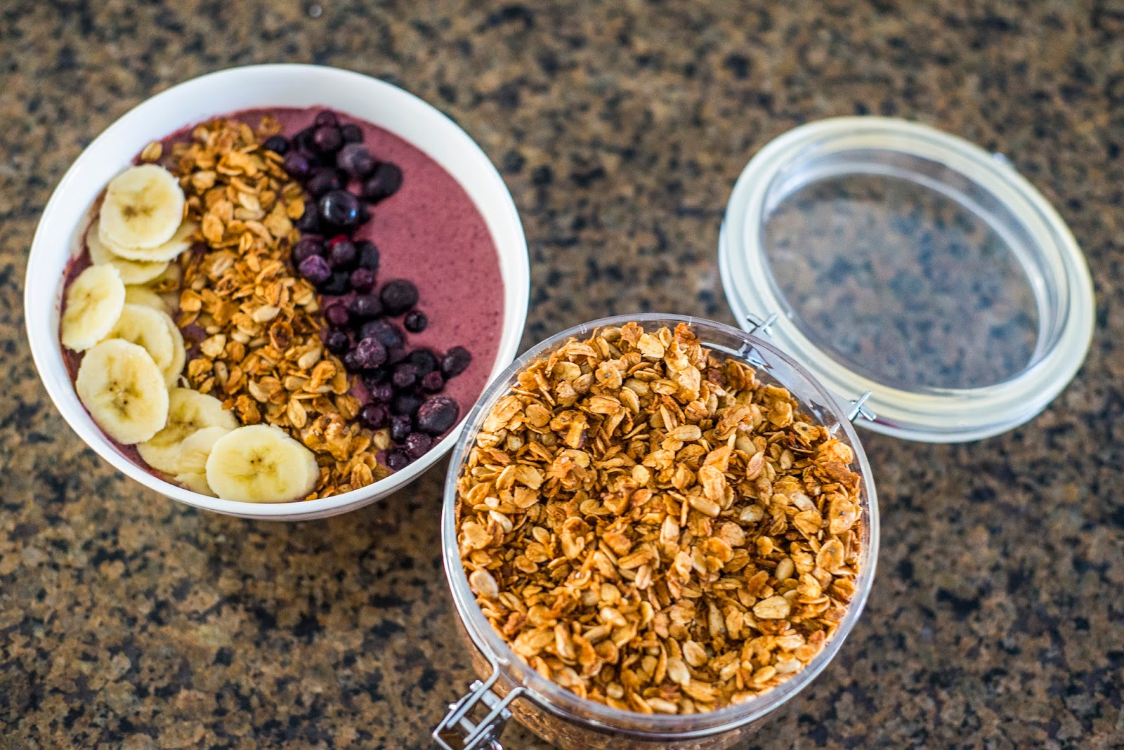 Made from scratch healthy Granola recipe