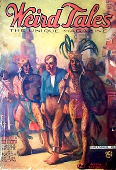 Weird Tales 1924 Ramon de las Cuevas