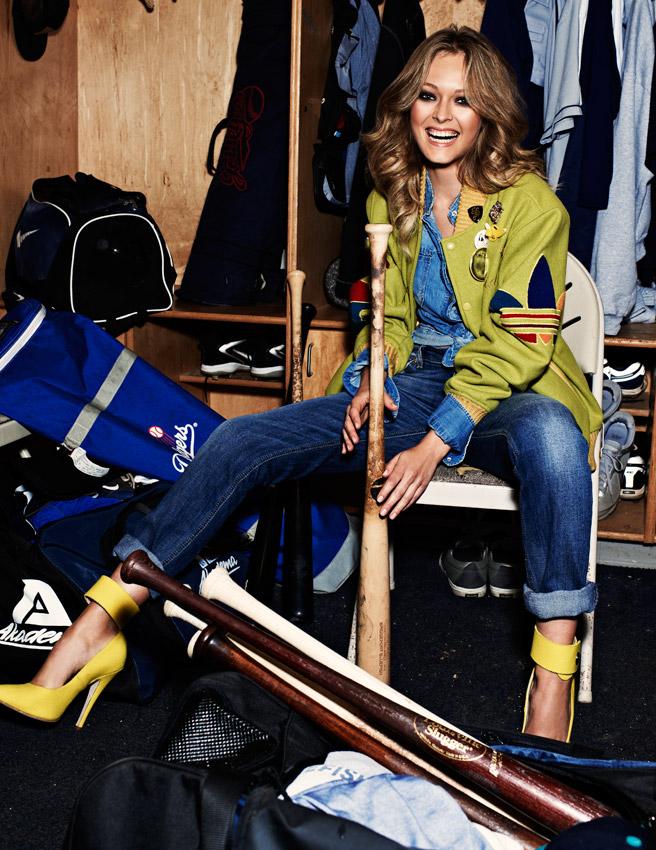 Celebrities spy olga maliouk elle italia photoshoot 12 pics for Elle italia