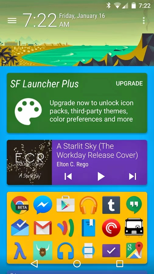 SF Launcher 2 Plus v2.0.2