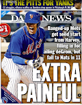 Mets lose but take News cover