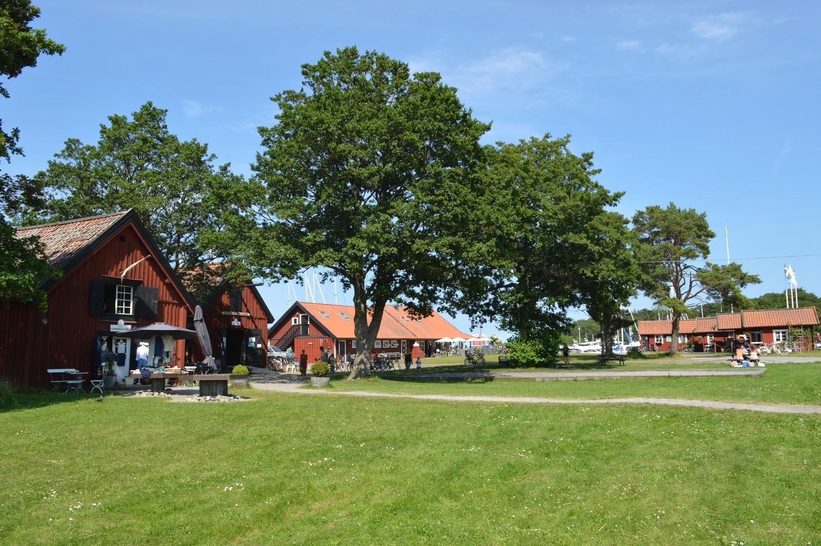 Gruvbryggan town on Utö island Stockholm archipelago, Utö Bageri