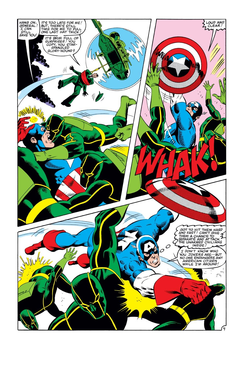 Captain America (1968) Issue #273 #189 - English 5