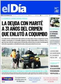 18/09/2020      CHILE UNA  PRIMERA PÁGINA DE LA PRENSA