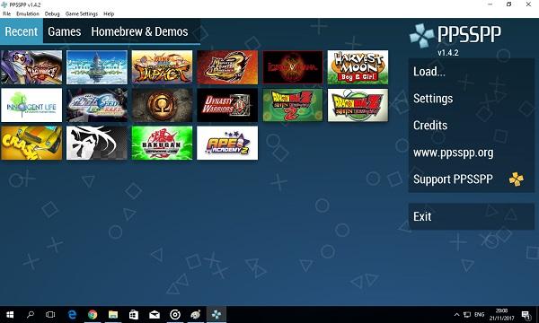 emulator psp terbaru untuk pc