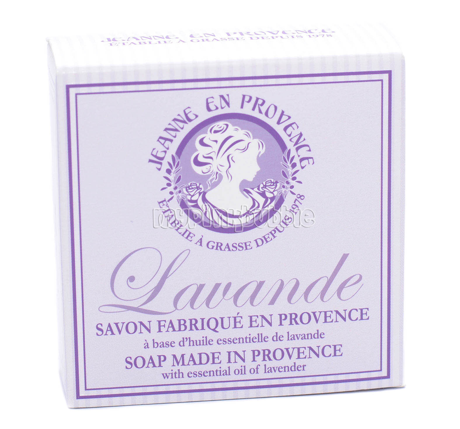 Jeanne provence jabon lavanda