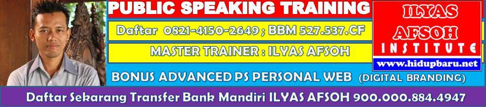 Public Speaking di Solo 0821-4150-2649