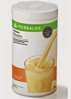 Shake Herbalife Frutas Tropicais