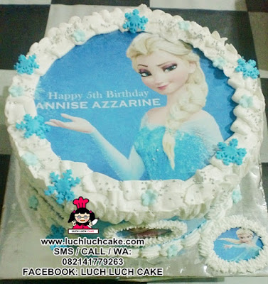 Frozen Elsa Birthday Cake