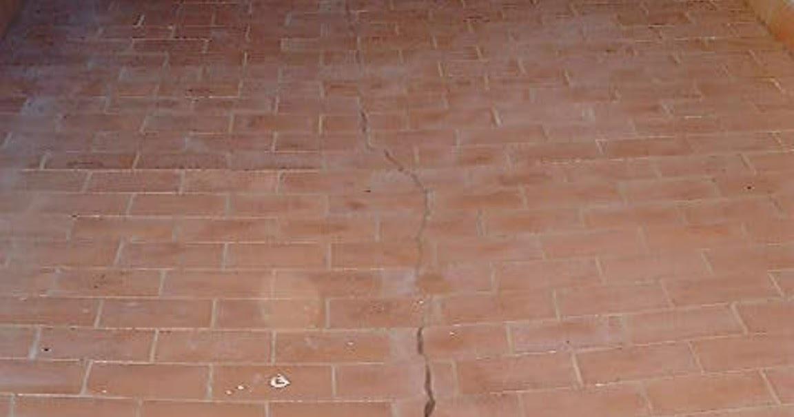 Peritararquitectura grietas en terrazas de plaqueta - Arreglo de terrazas ...