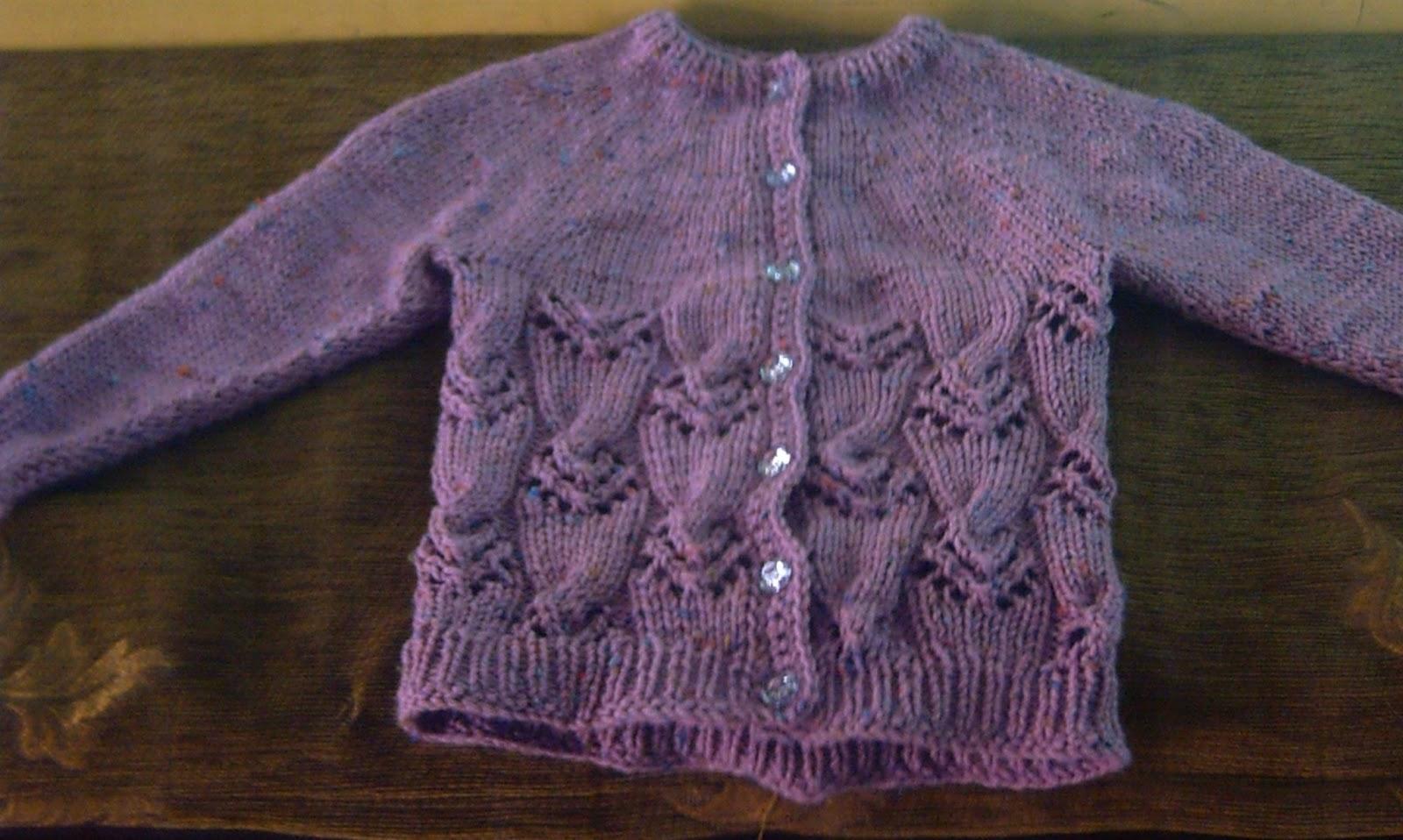 EL PASATIEMPO DE SILVIA: Suéter de niña
