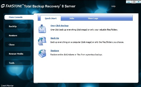 FarStone Total Backup Recovery Server 9.05 full