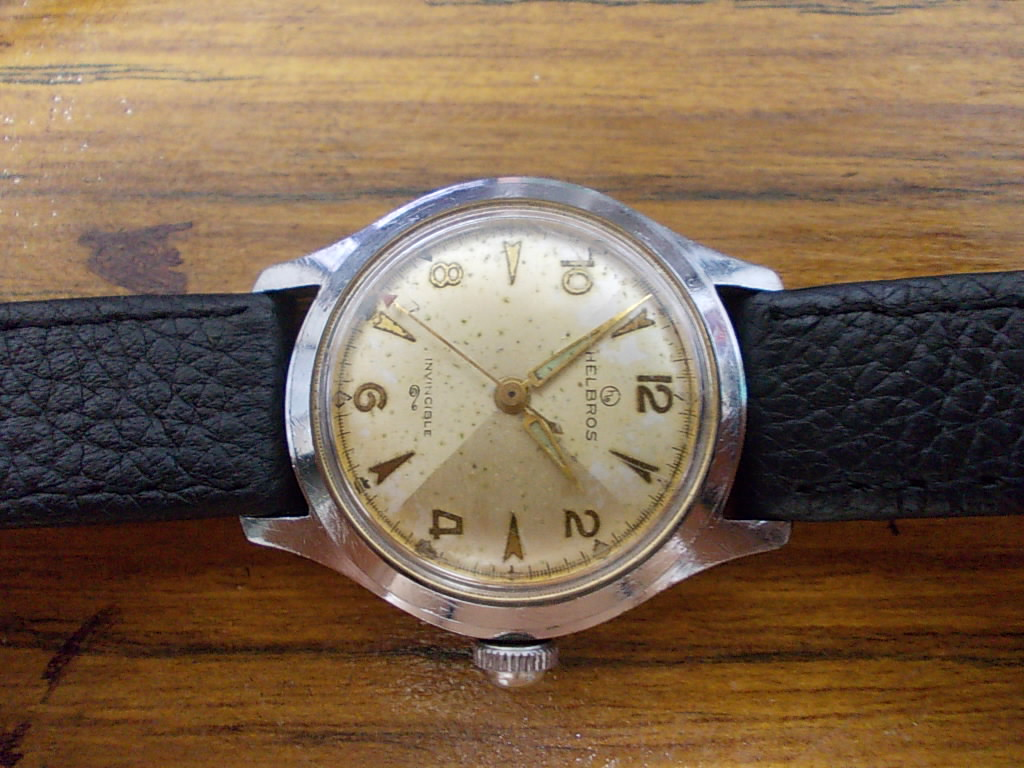 vintage helbros watches community