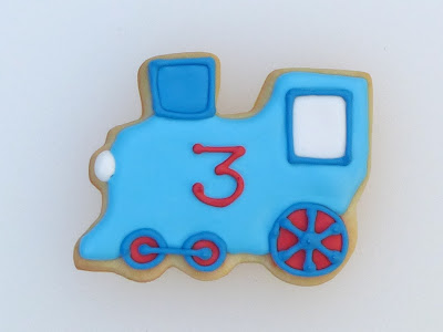 Train Cookies by Nina's Show & Tell
