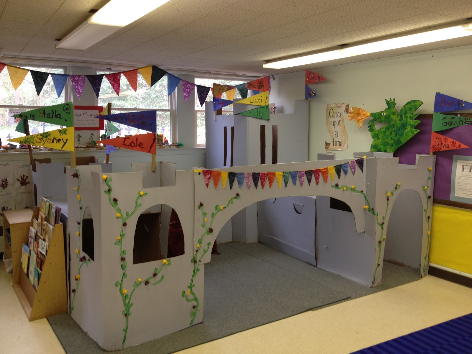 Mrs goff 39 s pre k tales our fairy tale castle for How to build a castle home