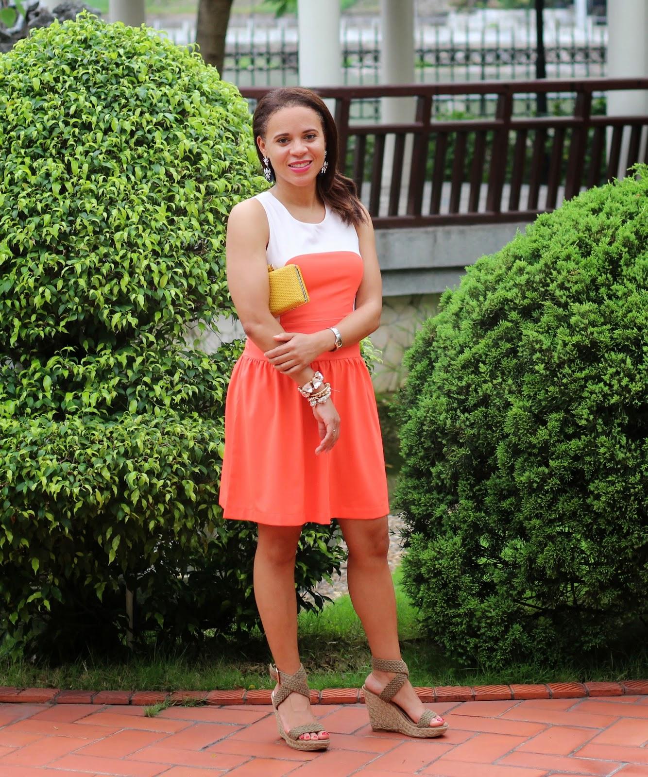 Orange-Fab'rik-Dress